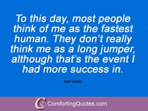 Carl Lewis Quotes