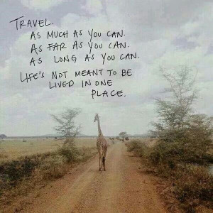 love to travel! :-)