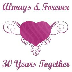 30th_anniversary_heart_greeting_card.jpg?height=250&width=250 ...