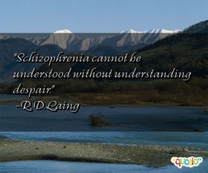 famous schizophrenia quotes