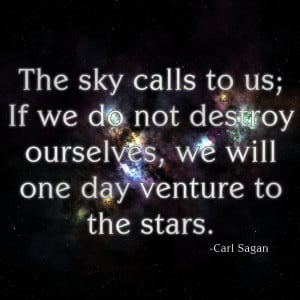 Carl Sagan Quote II by arisechicken117