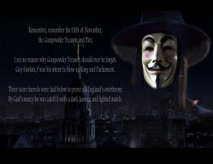 Remember Remember V For Vendetta Quotes. QuotesGram