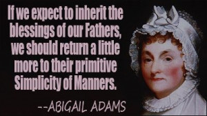 Abigail adams quote famous