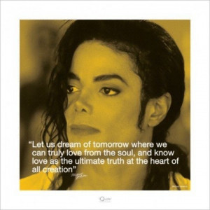 Michael Jackson Motivational Poster