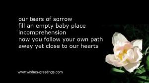 bereavement verses babies