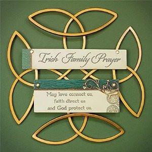 Amazon.com - Irish Family Blessing Wall Hanging - Decorative Plaques