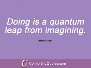 Quotes And Sayings From Barbara Sher