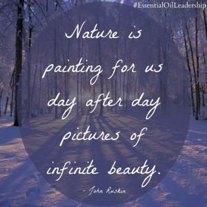 nature #beauty #EssentialOilLeadership #quote