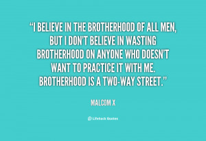 Brotherhood The Very Price...