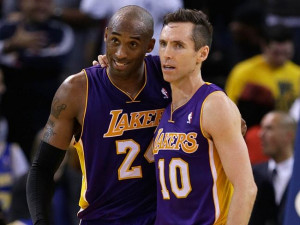 "Nash called Kobe Bryant a ""Mother ... f***ing ... a***hole."" Kobe ..."