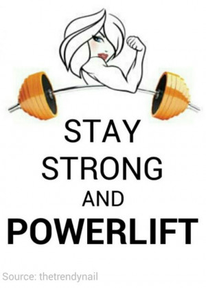 Powerlifting For Women - #powerlifting #strength #health #fitness # ...