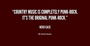 Quotes About Punk Music