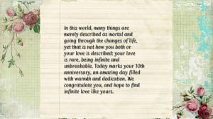 10th wedding anniversary quotes