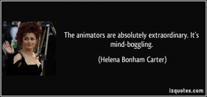 More Helena Bonham Carter Quotes