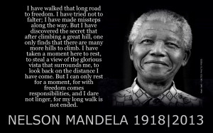 Nelson Mandela, anti-apartheid icon and father of modern South Africa ...