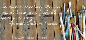 Living a creative life via lilblueboo.com