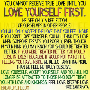 Self Love Relationship Quotes