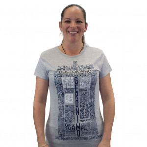 Details about Doctor Who Tardis of Quotes Womens Juniors T-Shirt