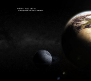 outer space world planets moon quotes earth 1600x900 wallpaper