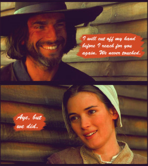 abigail williams #john proctor #the crucible #my edits