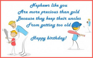 Happy birthday wishes for a nephew: Messages, quotes and poems from an ...