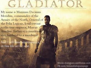 Gladiator – Movie Quotes