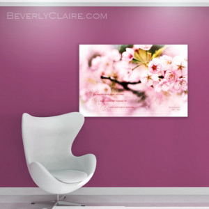"""Virtual room render of """"Beautiful Cherry Blossoms in Spring When ..."""