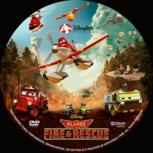 Planes Fire and Rescue DVD Cover