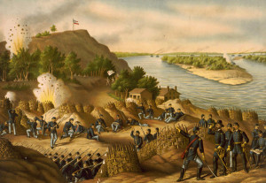 Siege of Vicksburg , by Kurz and Allison - Courtesy of Wikipedia]
