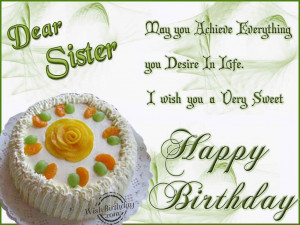 funny happy birthday quotes for older sister Sister Birthday Quotes ...