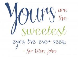 Monday Morning Printable - Elton John