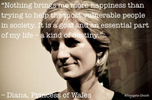princess diana quotes about helping people