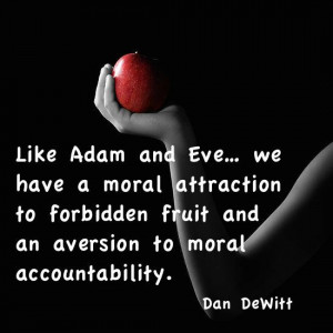 Moral attraction to forbidden fruit