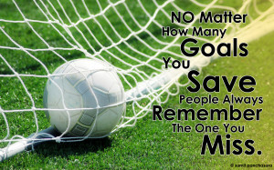 Soccer Goalie Quotes Tumblr Goalkeeper cghacker
