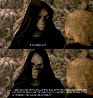 death fav quote beautiful movie amazing Discworld uvsiren •