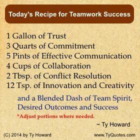 Quote. Team Success Quotes. Star Team Quotes. motivational quote ...
