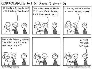 Coriolanus : Act Five