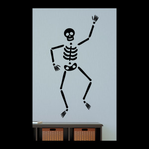 Billy Skeleton Wall Quotes™ Decal