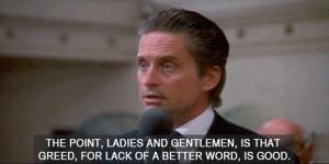 Wall Street Gordon Gekko Quotes