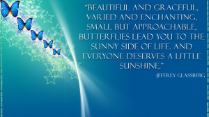 Butterfly quote wallpaper by smilekeeper