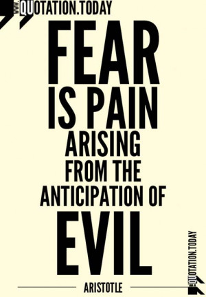 Quotations | Aristotle – Quotes on Fear