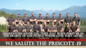 In Memoriam: The Prescott Firefighters