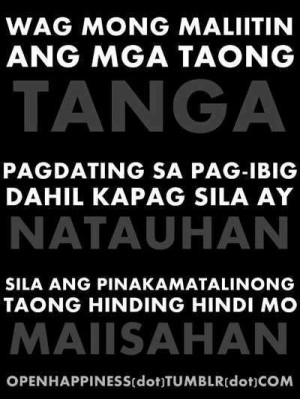 Love Quotes Tagalog Para Sa Crush Tumblr