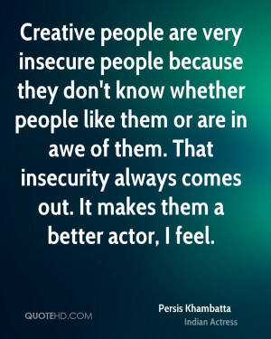 Quotes About Insecure