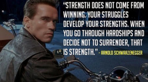 Arnold Schwarzenegger Quotes About Pain .