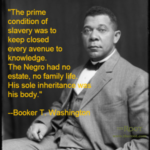 Quote of the Day: Booker T. Washington on Knowledge