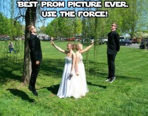 very Star Wars prom.