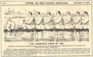 earlier on htbs there was an entry about the crews who rowed in the ...