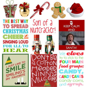 Buddy The Elf Quotes Greygold Polyvore