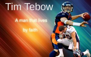 Tim Tebow A Man Of Faith by jasonutep